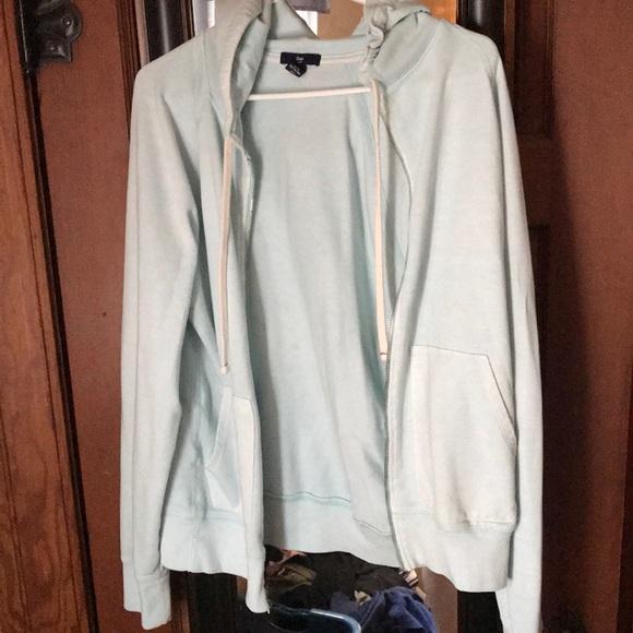 GAP Tops - Hooded Zip-up sweatshirt